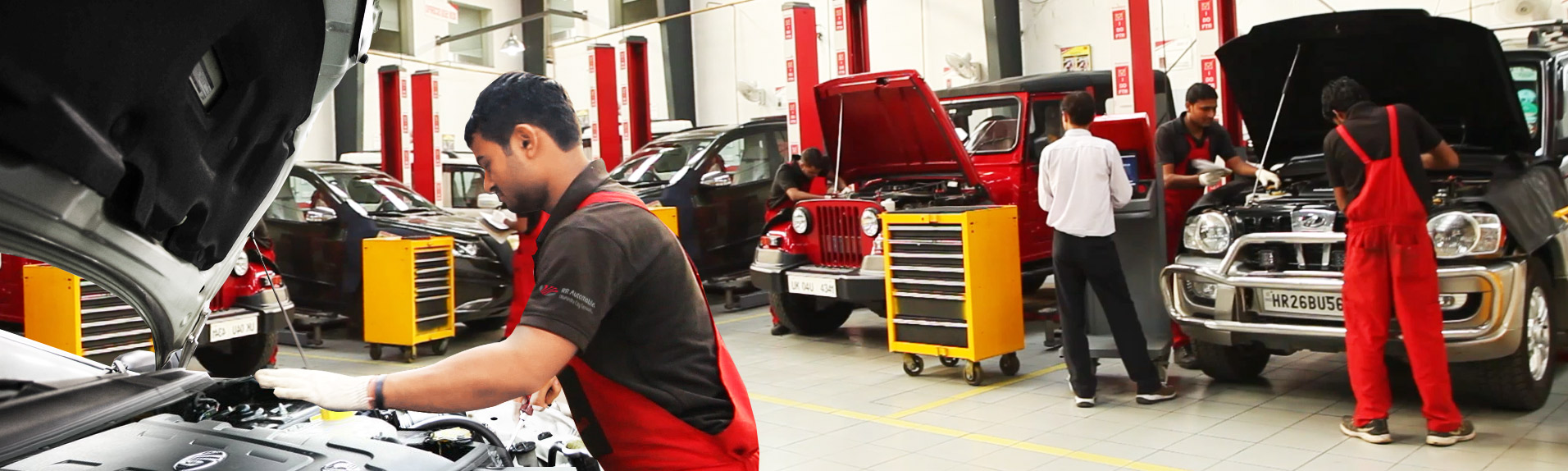 Car Workshop Near Me >> Mahindra Authorised Workshops Service Centre In Moti Nagar